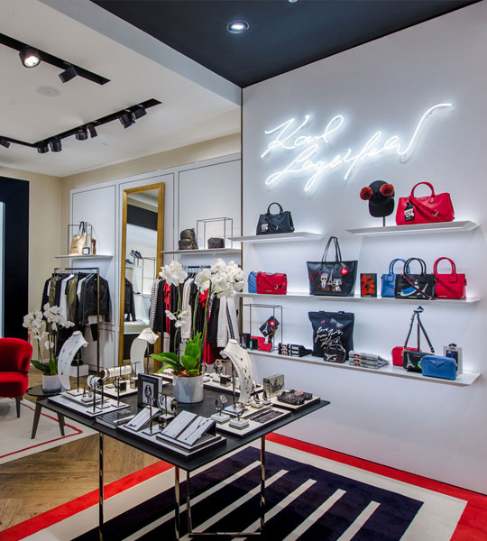 Karl Lagerfield Flagship Store Jeddah