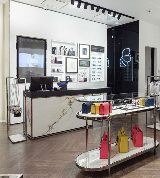 KARL LAGERFIELD, Flagship store, Moskow